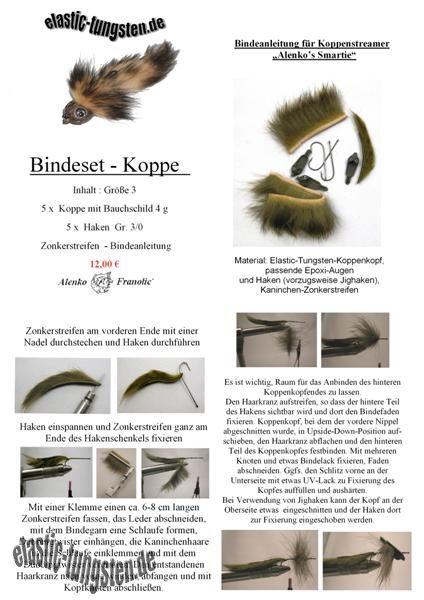BINDESET KOPPE 3