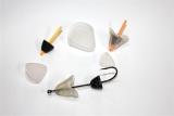 Fischkopf aus elastischem Kunststoff